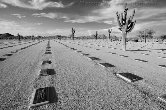 National Memorial Cemetery, Phoenix, Arizona.