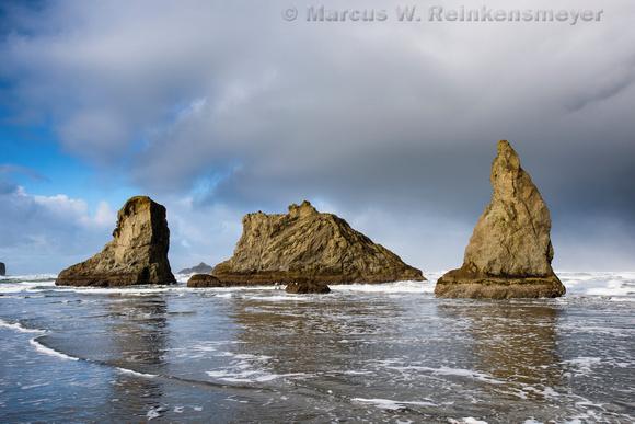 Triad,  Bandon Beach,  Oregon