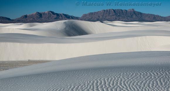 White Sands True White Pano
