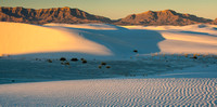 White Sands Dunes Aglow 1 Pano