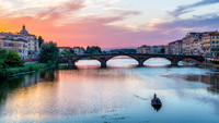 River Arno in Florence, Italy 4