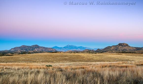 Dawn at San Rafael Valley Arizona pano