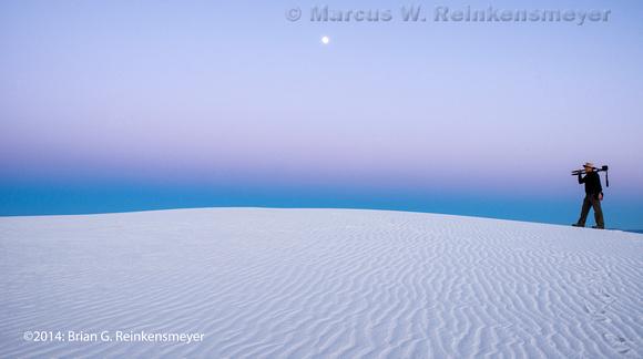 White Sands Dusk