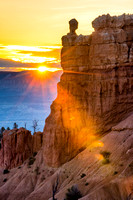 Sunrise, Peekaboo Loop Trail, Bryce Point, Bryce Canyon NP, UP 1