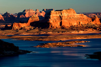 View from Ahlstrom Point, Lake Powell, Arizona-Utah Border