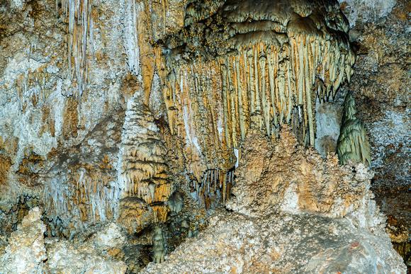 Carlsbad Cavern Intricate Wall