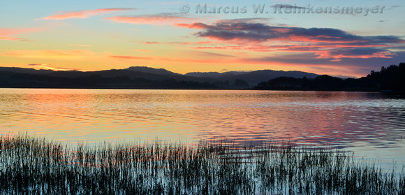 Roint Reyes Tomales Bay Sunrise 1 panoramic