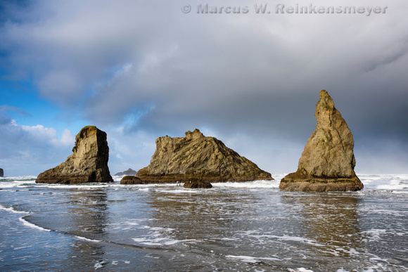 Triad,  Bandon Beach,  Oregon