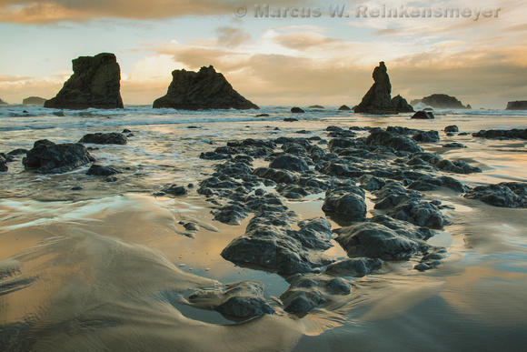 Low Tide, Glow Bandon, Beach