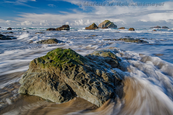 Swirl Bandon Beach Oregon 1