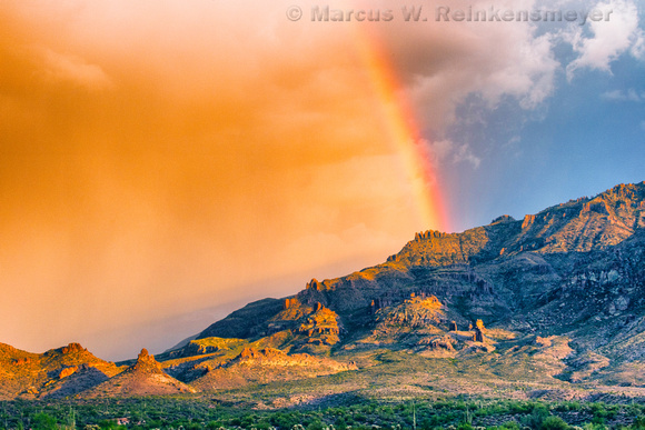Superstition Mountains Rainbow 1