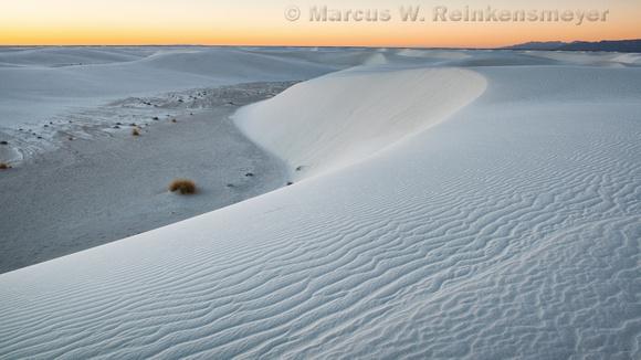 White Sands First Light