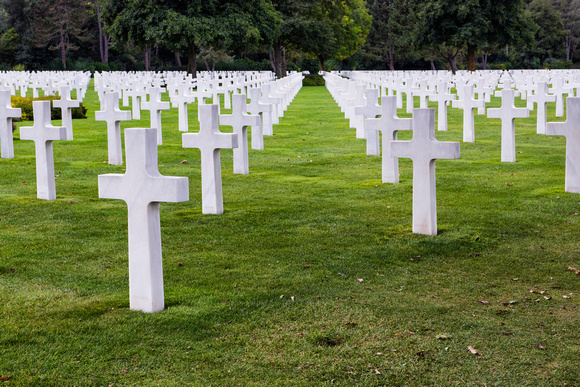 1 Normandy Cemetery and Memorial, France 2