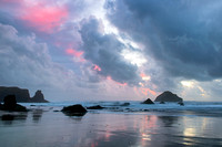 Storm Afterglow Cannon Beach Oregon