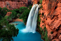 Havasu Falls, Arizona, cover shot for Nature Photographer magazine, Summer, 2008.