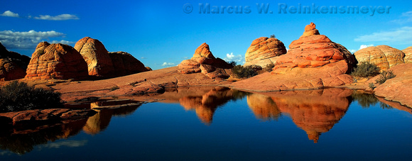 Meeting of the Domes, North Coyote Buttes, Paria Canyon - Vermilion Cliffs