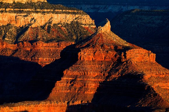 Grand Canyon National Park.  Arizona landscape photography.