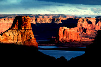 Lake Powell, Glen Canyon National Recreation Area, AZ-UT Border   (3)