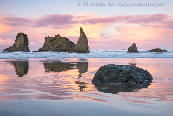 Mirror, Bandon Beach,  Oregon 5b