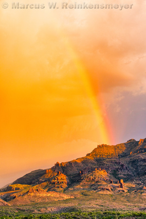 Superstition Mountains Rainbow 2