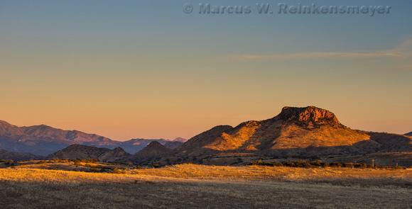 First Light San Rafael Valley AZ 2 pano
