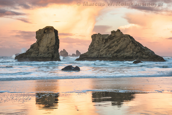 Dawn,  Bandon Beach,  Oregon 2