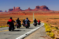 Saturday Morning Trek,  Monument Valley, Arizona-Utah Border